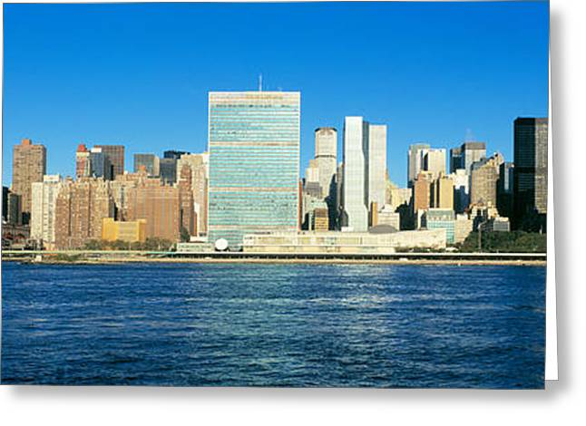 Midtown Greeting Cards - New York City Ny Greeting Card by Panoramic Images