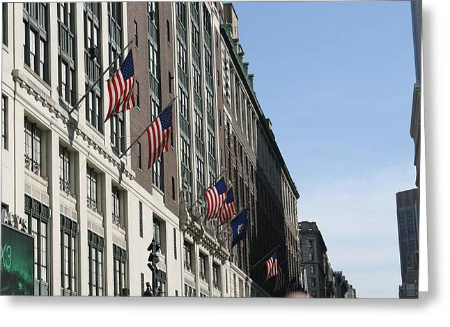 New York City - Sights Of The City - 121215 Greeting Card by DC Photographer