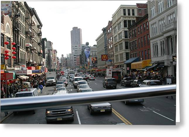 York Greeting Cards - New York City - Sights of the City - 121225 Greeting Card by DC Photographer