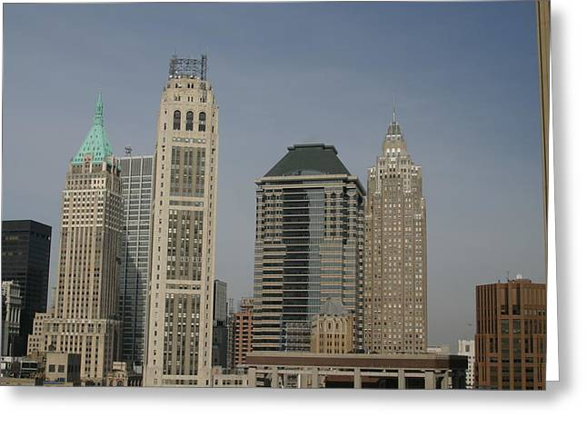 York Greeting Cards - New York City - Sights of the City - 121235 Greeting Card by DC Photographer
