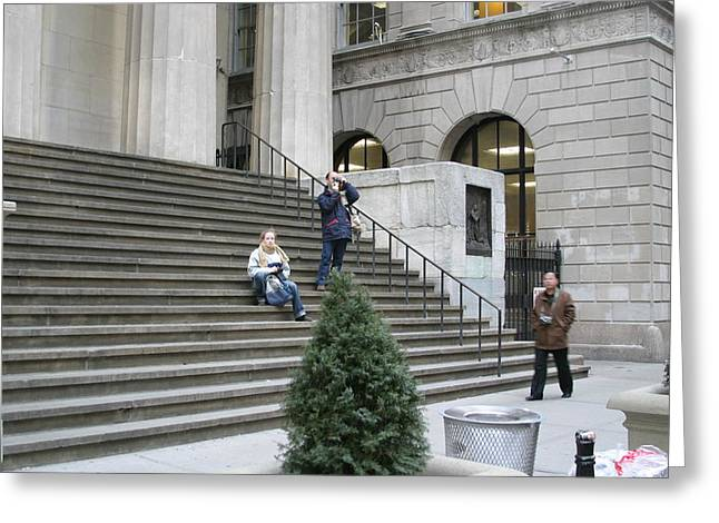 Building Greeting Cards - New York City - Sights of the City - 121244 Greeting Card by DC Photographer
