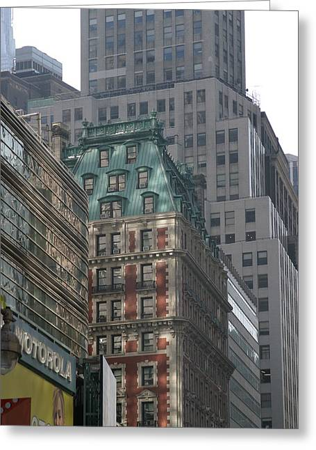 Site Photographs Greeting Cards - New York City - Sights of the City - 12127 Greeting Card by DC Photographer