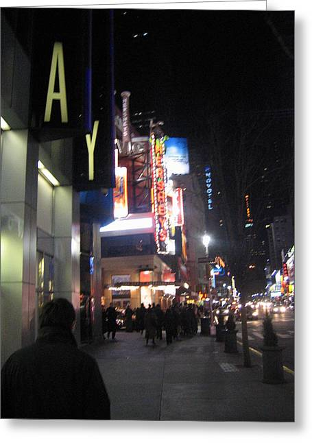 Times Greeting Cards - New York City - Times Square - 121217 Greeting Card by DC Photographer