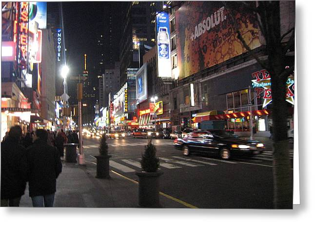 York Greeting Cards - New York City - Times Square - 121218 Greeting Card by DC Photographer