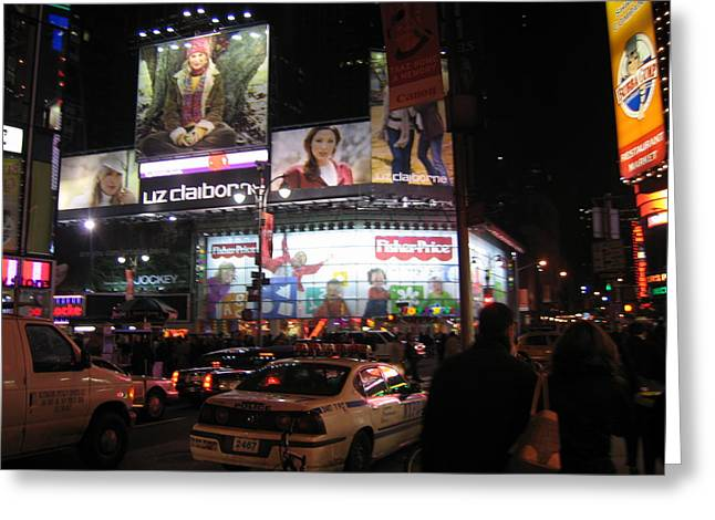 York Greeting Cards - New York City - Times Square - 12123 Greeting Card by DC Photographer
