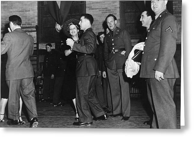 Knickerbockers Greeting Cards - New York: Dance Hall, 1941 Greeting Card by Granger