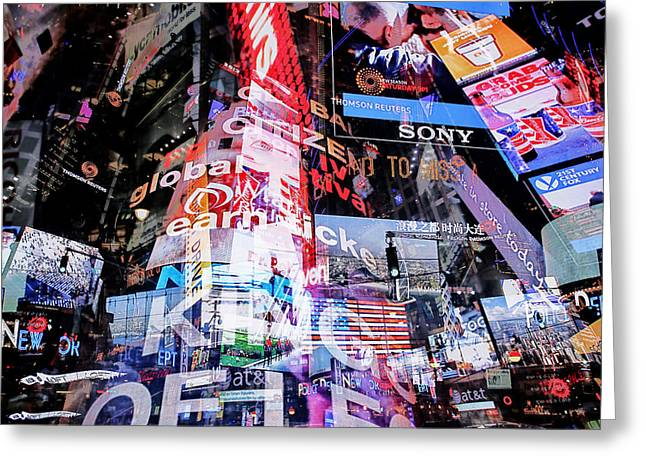 Media Exposure Greeting Cards - New York Exposure 1 Greeting Card by Craig Gordon
