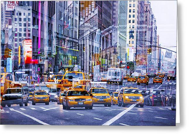 Media Exposure Greeting Cards - New York Exposure 12 Greeting Card by Craig Gordon