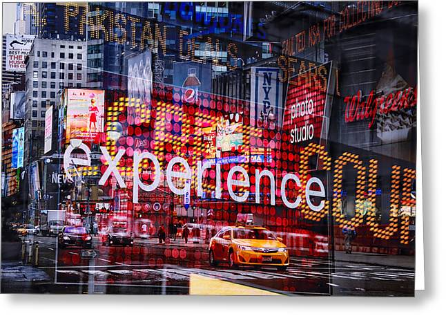 Media Exposure Greeting Cards - New York Exposure 14 Greeting Card by Craig Gordon