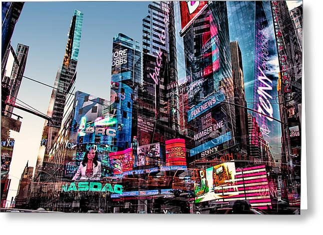 Media Exposure Greeting Cards - New York Exposure 17 Greeting Card by Craig Gordon