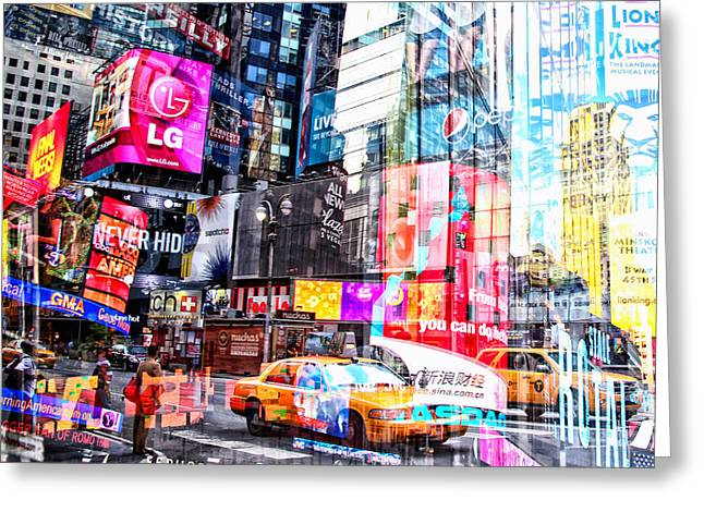 Media Exposure Greeting Cards - New York Exposure 18 Greeting Card by Craig Gordon