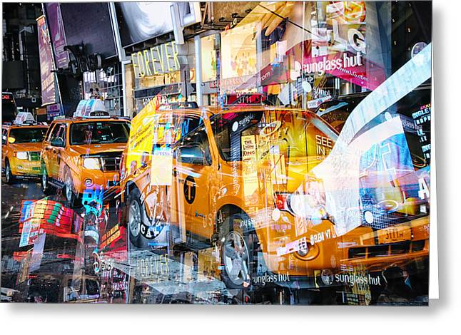 Media Exposure Greeting Cards - New York Exposure 19 Greeting Card by Craig Gordon