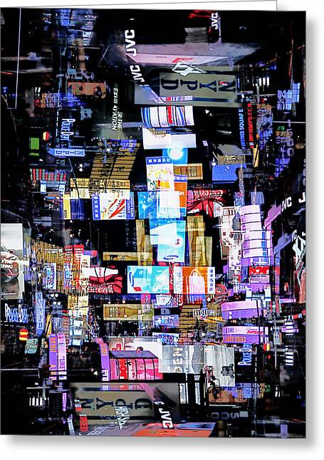 Media Exposure Greeting Cards - New York Exposure 3 Greeting Card by Craig Gordon