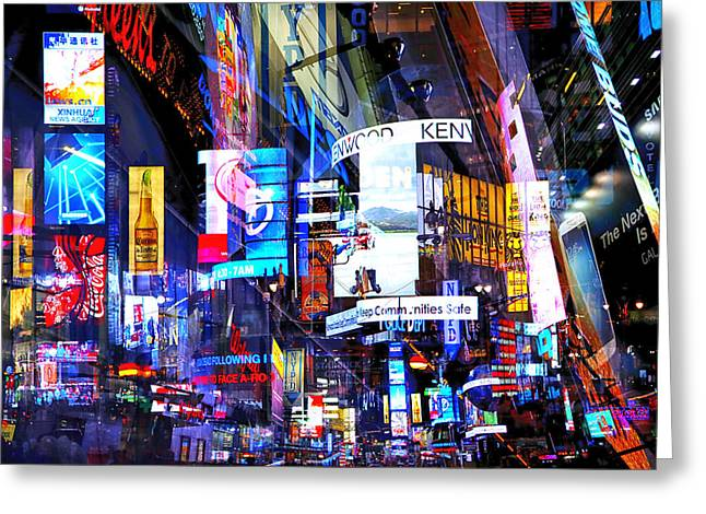 Media Exposure Greeting Cards - New York Exposure 4 Greeting Card by Craig Gordon