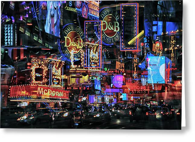 Media Exposure Greeting Cards - New York Exposure 6 Greeting Card by Craig Gordon