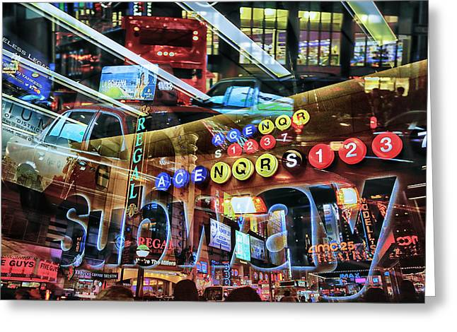 Media Exposure Greeting Cards - New York Exposure 8 Greeting Card by Craig Gordon