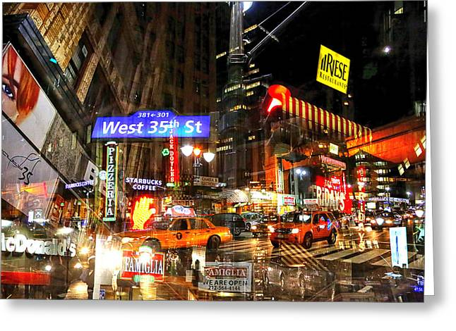 Media Exposure Greeting Cards - New York Exposure 9 Greeting Card by Craig Gordon