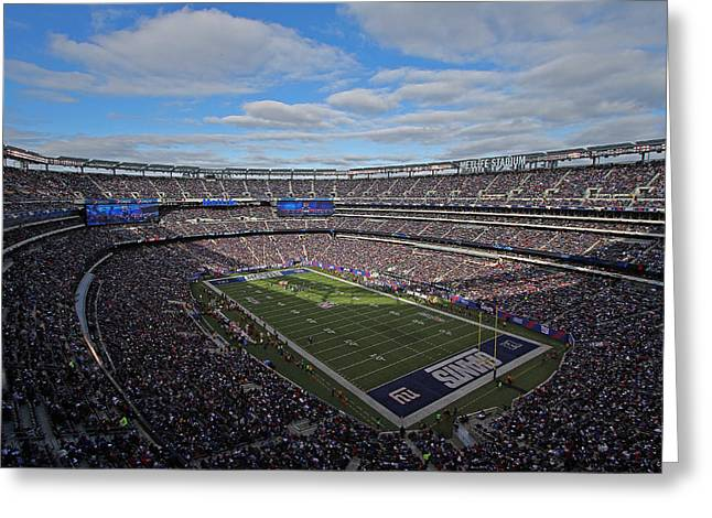 Division Greeting Cards - New York Giants Greeting Card by Juergen Roth