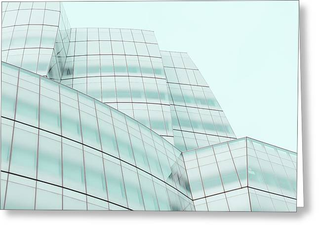 Montreal Icon Greeting Cards - New York IAC building Greeting Card by Simon Laroche
