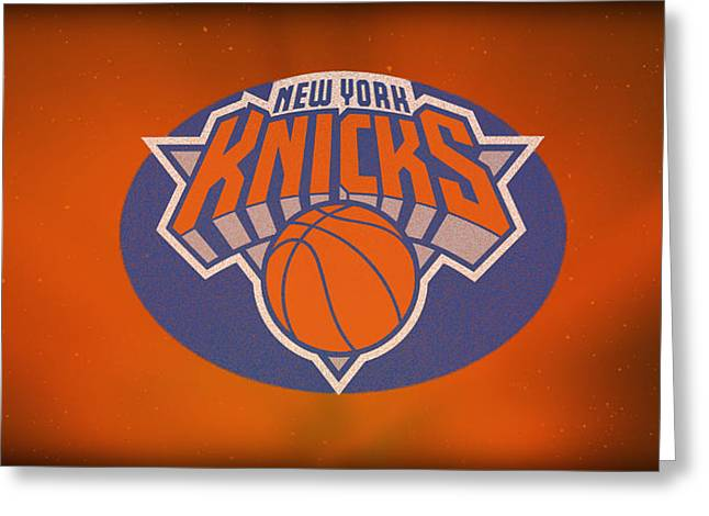 Knicks Photographs Greeting Cards - New York Knicks Greeting Card by Jerry Coli