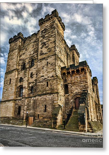 River View Greeting Cards - Newcastle Castle Greeting Card by Ray Pritchard