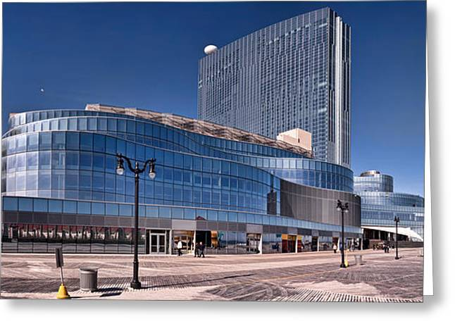 In-city Greeting Cards - Newest Revel Casino At Atlantic City Greeting Card by Panoramic Images