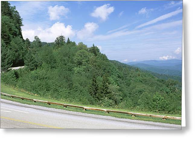 Gaps Greeting Cards - Newfound Gap Road, Great Smoky Greeting Card by Panoramic Images