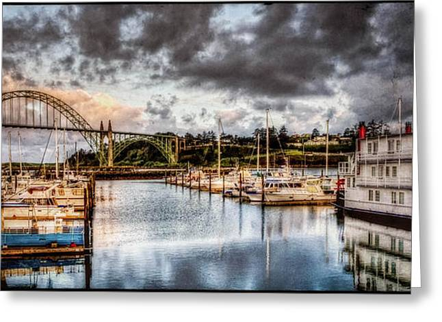 Photo Art Gallery Greeting Cards - Newport Belle At Dawn Greeting Card by Thom Zehrfeld