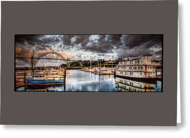Recently Sold -  - Photo Art Gallery Greeting Cards - Newport Belle At Dawn Greeting Card by Thom Zehrfeld