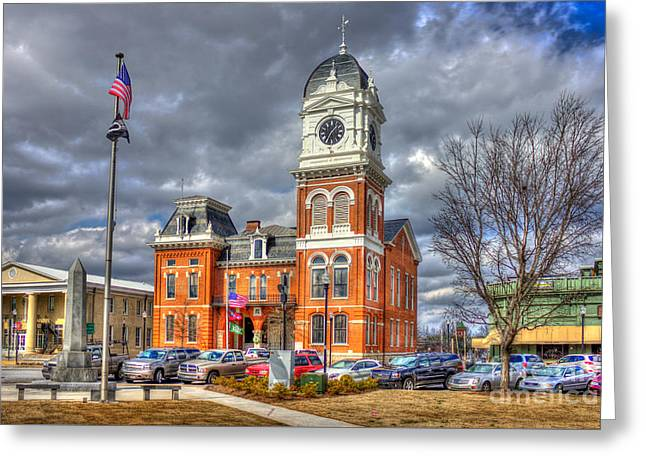 Historic Newton County Court House  Greeting Card by Reid Callaway
