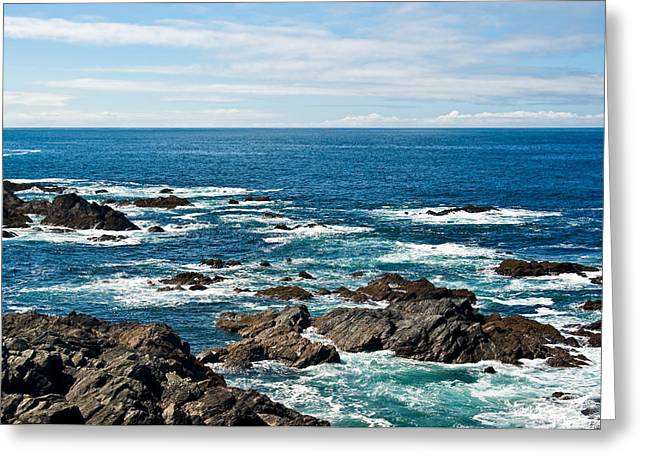 Distance Framed Prints Greeting Cards - Next Stop America Greeting Card by Jane McIlroy