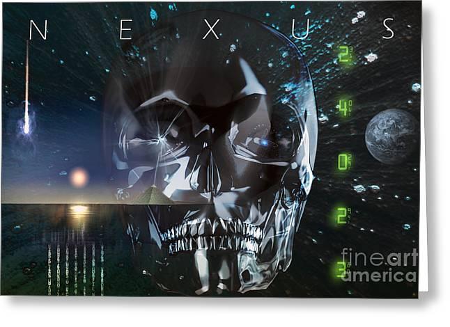 Nexus Greeting Cards - Nexus Greeting Card by Shadowlea Is