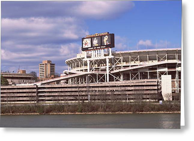 Tennessee River Greeting Cards - Neyland Stadium In Knoxville Greeting Card by Panoramic Images