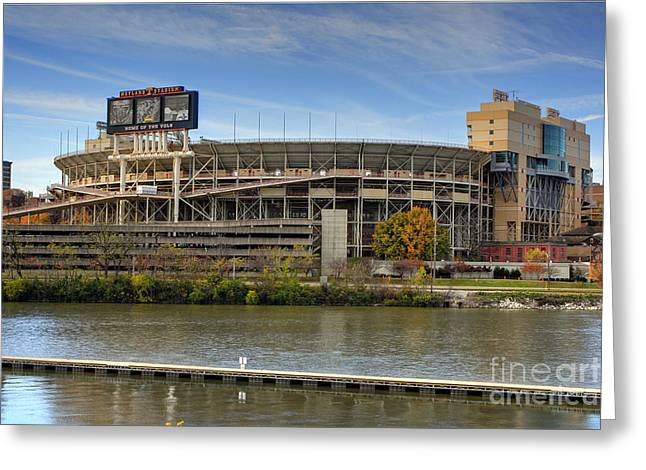 Neyland Stadium Greeting Card by Photography by Laura Lee