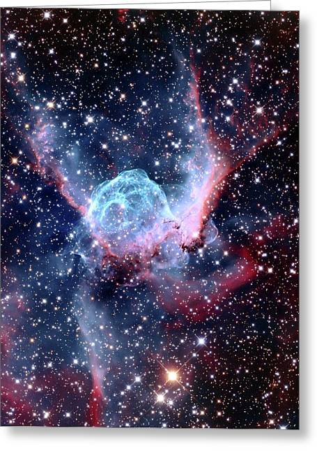 Ngc 2359 Nebular Greeting Card by Adam Block/mount Lemmon Skycenter/university Of Arizona