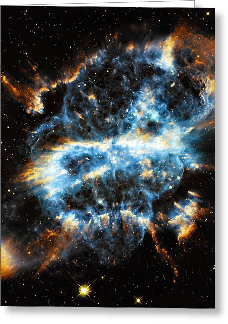 Astronomic Greeting Cards - Ngc 5189 Greeting Card by Ricky Barnard