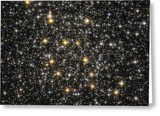 Twinkle Greeting Cards - Ngc 6362 Globular Cluster Greeting Card by Roberto Colombari