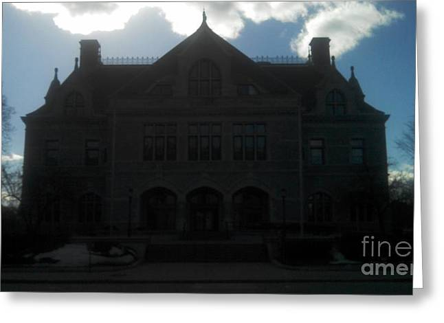 Concord Greeting Cards - N.H. Legislative Building Greeting Card by Lisa Gifford