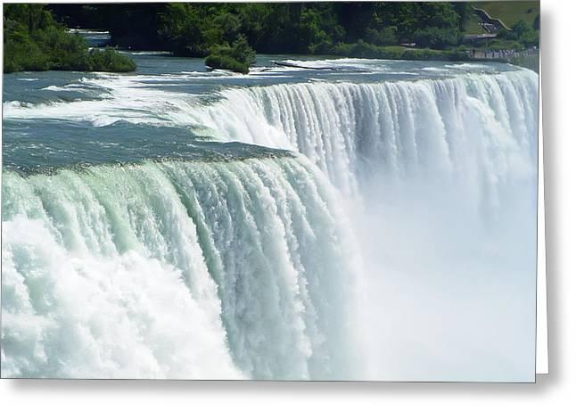 Skies Greeting Cards - Niagara Falls 3 Greeting Card by Aimee L Maher Photography and Art