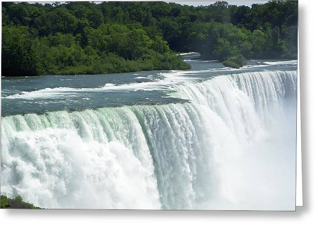 Niagara Falls 8 Greeting Card by Aimee L Maher Photography and Art