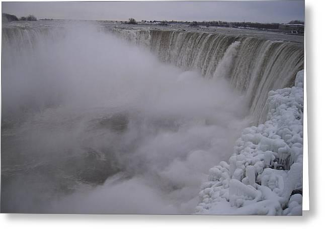 Niagara Falls Greeting Card by Anastasia Konn