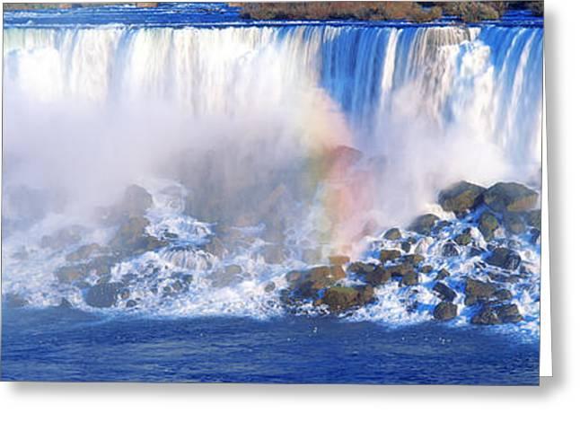 Niagara River Greeting Cards - Niagara Falls, Canada Greeting Card by Panoramic Images