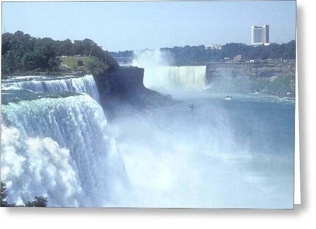 Fall Photos Greeting Cards - NIAGARA FALLS - New York Greeting Card by Mike McGlothlen
