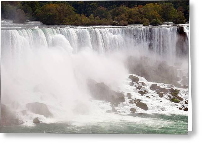 Paul Van Baardwijk Greeting Cards - Niagara Falls Greeting Card by Paul Van Baardwijk