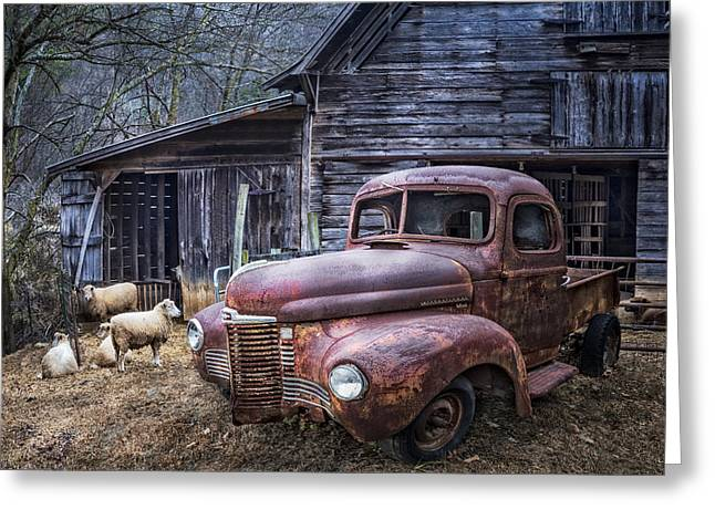 Recently Sold -  - Tennessee Farm Greeting Cards - Nice Ride Greeting Card by Debra and Dave Vanderlaan