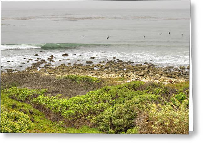 Pacific Ocean Prints Greeting Cards - Nicholas Canyon County Beach Greeting Card by Ricky Barnard
