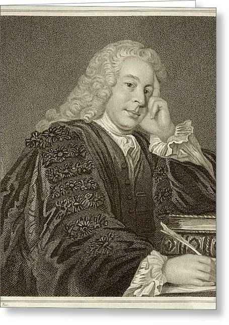Nicholas Hardinge Greeting Card by Middle Temple Library