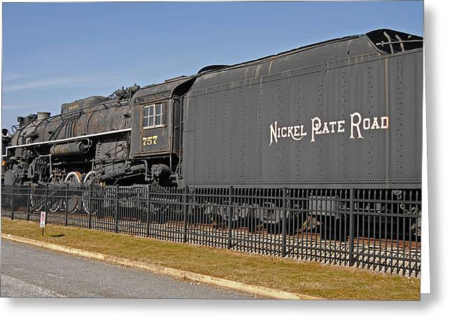 Rr Greeting Cards - Nickel Plate Road Greeting Card by Skip Willits