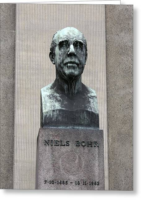 Niel Greeting Cards - Niels Bohr, Danish physicist Greeting Card by Science Photo Library