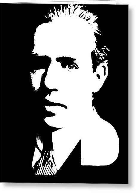 Niel Greeting Cards - Niels Bohr Quantum Mechanics Greeting Card by Daniel Hagerman